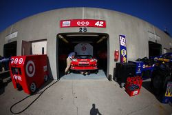 Garage du Earnhardt Ganassi Racing Chevrolet