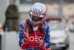 Charles Pic celebra su pole position