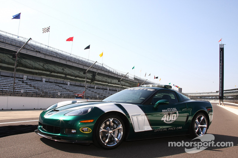 2010 Brickyard 400 Corvette pace car