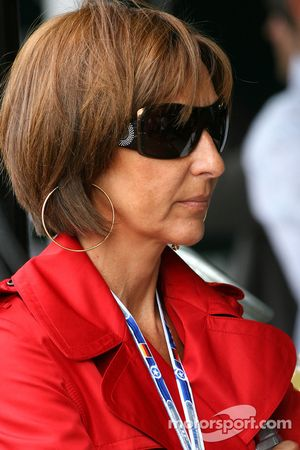 Viviane Senna, madre de Bruno Senna, Hispania Racing F1 Team