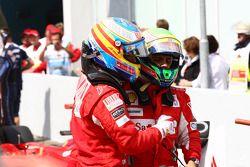 Fernando Alonso, Scuderia Ferrari et Felipe Massa, Scuderia Ferrari