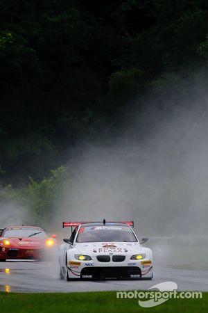 #92 BMW Rahal Letterman Racing Team BMW E92 M3: Bill Auberlen, Tom Milner