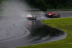 #6 Team Cytosport Porsche RS Spyder: Greg Pickett, Klaus Graf, #95 Level 5 Motorsports Oreca FLM09: Scott Tucker, Andy Wallace