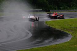 #6 Team Cytosport Porsche RS Spyder: Greg Pickett, Klaus Graf, #95 Level 5 Motorsports Oreca FLM09: