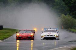 #62 Risi Competizione Ferrari F430 GT: Jaime Melo, Gianmaria Bruni, #90 BMW Rahal Letterman Racing T