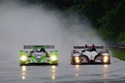 #1 Patron Highcroft Racing Honda Performance Development ARX-01c: David Brabham, Simon Pagenaud, #55 Level 5 Motorsports Oreca FLM09: Scott Tucker, Christophe Bouchut
