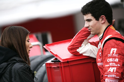 Alexander Rossi and his mother Dawn