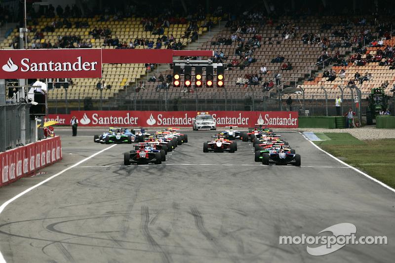 Roberto Merhi valt stil en veroorzaakte afgeblazen start
