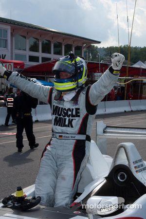 Race winnaar Klaus Graf