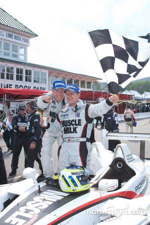 Race winnaars Greg Pickett en Klaus Graf