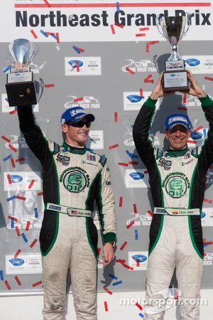 PC klasse podium: winnaars Gunnar Jeannette en Elton Julian