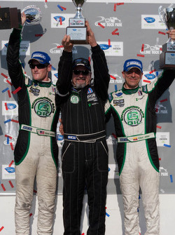 PC class podium: vainqueurs de la catégorie Gunnar Jeannette et Elton Julian avec Kevin Jeannette