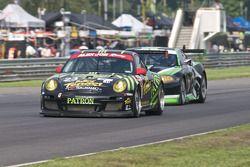 #3 Corvette Racing Chevrolet Corvette ZR1: Jan Magnussen, Johnny O'Connell, #17 Team Falken Tire Por