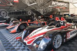 Intersport Racing paddock