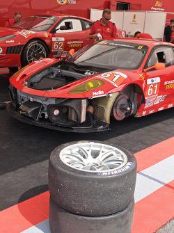 #36 Genoa Racing Oreca FLM09: Tom Sedivy, Christian Zugel, #90 BMW Rahal Letterman Racing Team BMW M