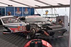 #90 BMW Rahal Letterman Racing Team BMW M3 GT: Dirk Müller, Joey Het, #48 Orbit Racing Porsche 911 GT3 Cup: Bryce Miller, Luke Hines