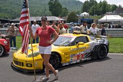 Corvette Racing grid girl