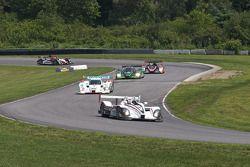 Formatieronde: #6 Team Cytosport Porsche RS Spyder: Greg Pickett, Klaus Graf