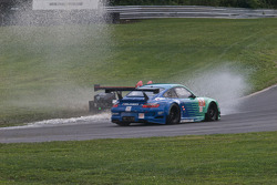 #89 Intersport Racing Oreca FLM09: Kyle Marcelli, Brian Wong, #17 Team Falken Tire Porsche 911 GT3 R