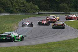 #89 Intersport Racing Oreca FLM09: Kyle Marcelli, Brian Wong - Gets Back On Track