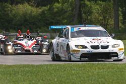 #90 BMW Rahal Letterman Racing Team BMW M3 GT: Dirk Müller, Joey Het, #89 Intersport Racing Oreca FL