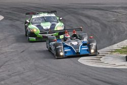 #52 PR1 Mathiasen Motorsports Oreca FLM09: Alex Figge, Tom Papadopoulos, #75 Jaguar RSR Jaguar XKRS: