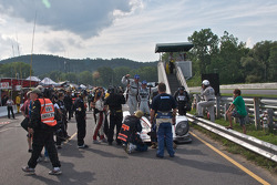Race winners Greg Pickett and Klaus Graf celebrate