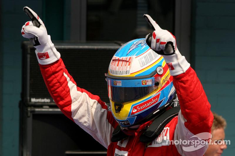 vainqueur Fernando Alonso, Scuderia Ferrari
