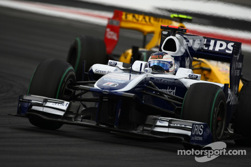 Rubens Barrichello, Williams F1 Team voor Vitaly Petrov, Renault F1 Team