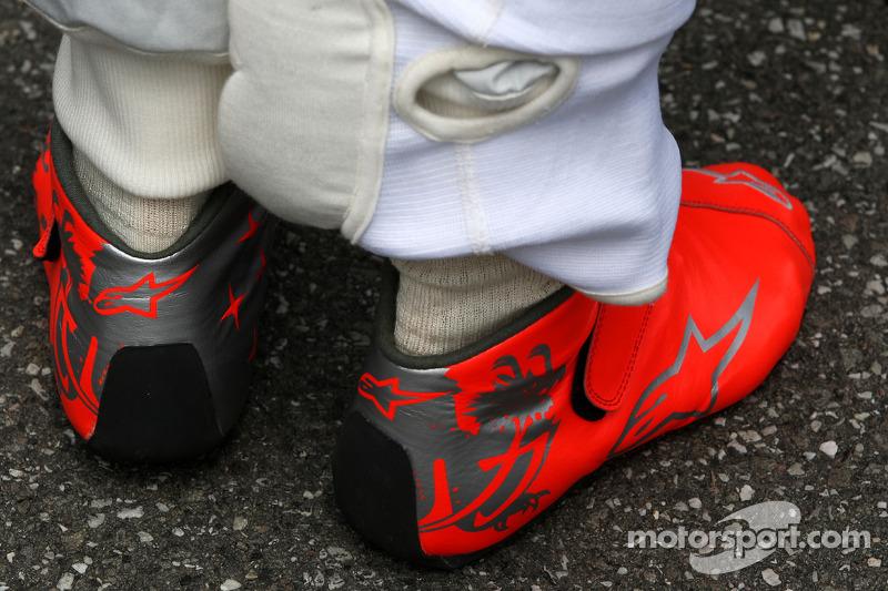 96c206100b5 The race boots of Michael Schumacher, Mercedes GP at German GP