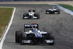 Rubens Barrichello, Williams F1 Team y Pedro de la Rosa, BMW Sauber F1 Team