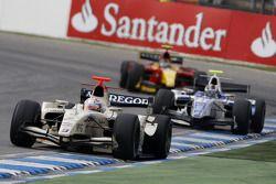 Giedo Van der Garde leads Giacomo Ricci