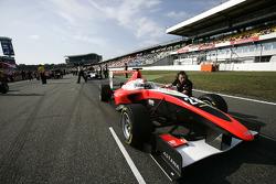 Daniel Juncadella on the grid