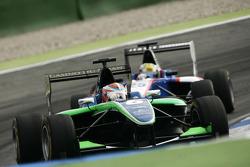 Daniel Morad leads Nico Muller