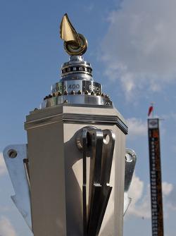 Victory lane: trofee