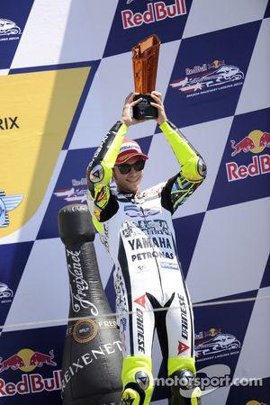 Podio:tercer lugar Valentino Rossi, Fiat Yamaha Team