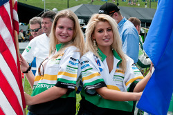 Dyson Racing grid girls