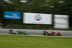 #95 Level 5 Motorsports Oreca FLM09: Scott Tucker, Andy Wallace, #8 Drayson Racing Lola B09 60 Judd: