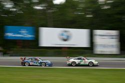 #54 Black Swan Racing Porsche 911 GT3 Cup: Timothy Pappas, Jeroen Bleekemolen, #63 TRG Porsche 911 GT3 Cup: Henri Richard, Andy Lally