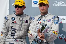 GT class podium: 3e Dirk Müller et Joey Het