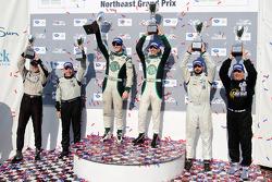 PC class podium: vainqueurs de la catégorie Gunnar Jeannette et Elton Julian, 2e Alex Figge et Tom
