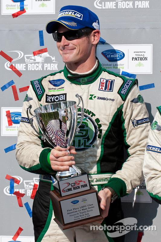 PC class podium: class vainqueur Gunnar Jeannette