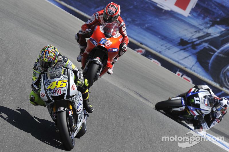 2010 - Rossi s'en va chercher le podium