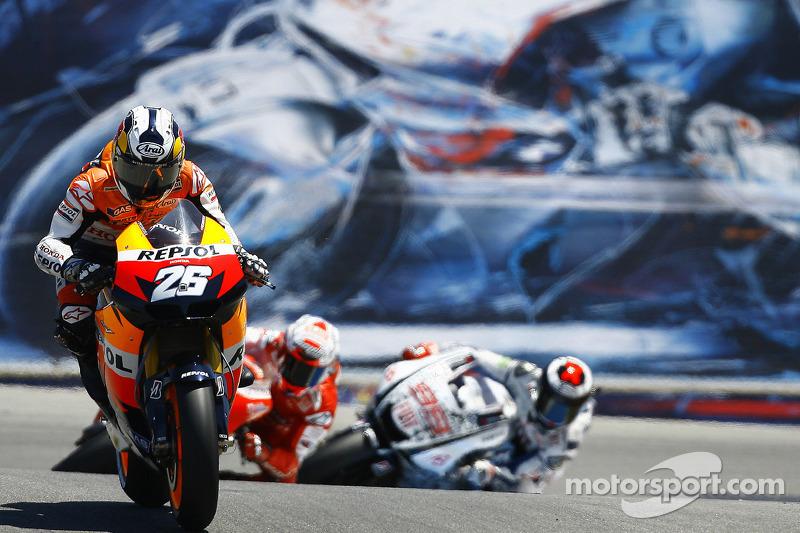 Педроса – трехкратный чемпион мира. Он выиграл титул в 125cc, а затем два в 250cc, причем сделал это всего за три года