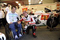 Marco Melandri, San Carlo Honda Gresini con Ernesto Fonseca