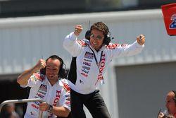 LCR Honda MotoGP, Gerente Lucio Cecchinello celebra final de puntos para Roger Lee Hayden, LCR Honda