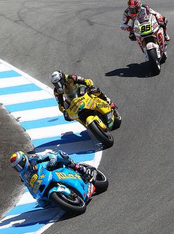 Альваро Баутиста, Rizla Suzuki MotoGP, Гектор Барбера, Paginas Amarillas Aspar, и Роджер Ли Хейден, LCR Honda MotoGP