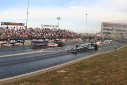 Steve Torrence, Torrence Racing/Tuttle Motorsports en Terry McMillen, Amalie Oil/Wolverine