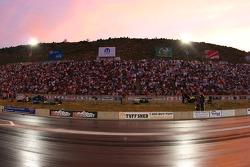 Zonsondergang Bandimere Speedway, Morrison, Colorado
