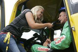 Hans Stuck, Truck Race Team Allgäuer, MAN